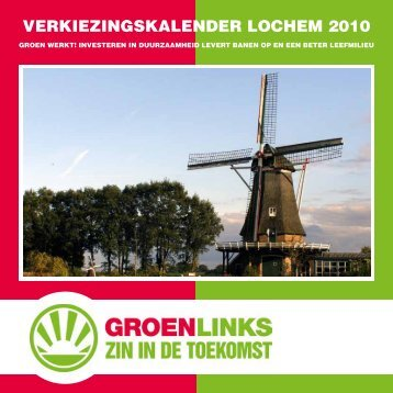 Verkiezingskalender 2010 GroenLinks.pdf - GroenLinks Lochem