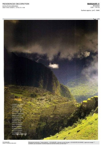 RESIDENCES DECORATION - Voyageurs du Monde