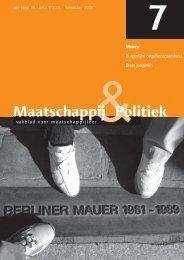 2008 7 - Maatschappij en Politiek