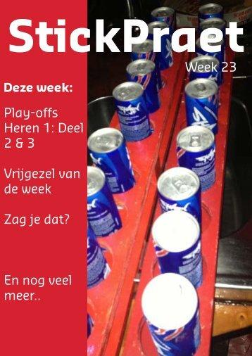 Play-offs Heren 1: Deel 2 & 3 Vrijgezel van de week Zag je ... - USHC