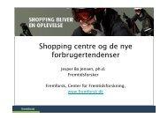 Fremtidens shoppingcentre - Fremtidsforskeren Jesper Bo Jensen