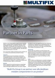 Download hier de brochure 'Partner in Parts' - Multifix