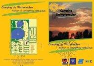 Camping de Watermolen Natuur en ontspanning vlakbij huis