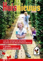 Lees het verhaal over de familie Hendriks en het Ronald McDonald ...