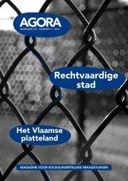 Rechtvaardige stad & Het Vlaamse platteland - AGORA Magazine
