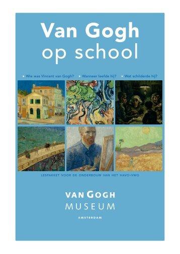 Onderbouw HAVO-VWO - Van Gogh Museum