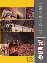 ALFA 13 Catalogue - ALFA | Testing Equipment