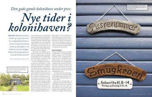 Kolonihaven som kulturarv.pdf - Bygningskultur Danmark