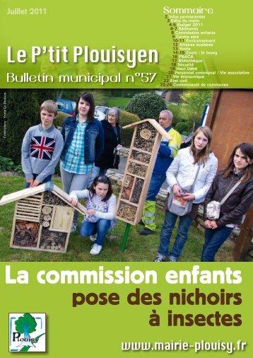 Juin 2011 - Mairie de Plouisy