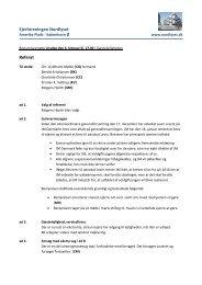 Bestyrelsesmøde 6. februar 2013