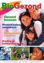 Infoblad over Gezond Leven - 1ste jaargang - nummer 5 - BioGezond