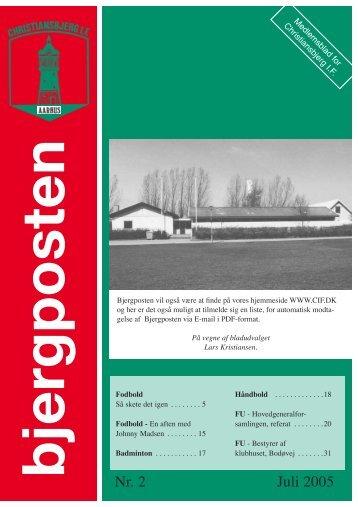 Bjergposten nr. 2 - 2005 - Christiansbjerg IF