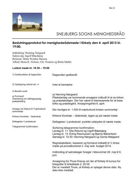 April - Snejbjerg Kirke