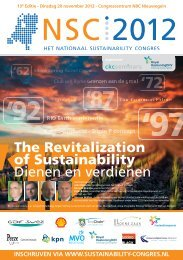 The Revitalization of Sustainability - e-Driver
