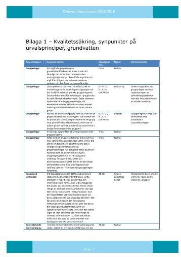 Särskild sammanställning av remissvar (368 kB)