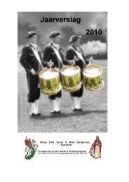 Jaarverslag 2010 - Gilde Sint Joris & Sint Catharina Gemonde