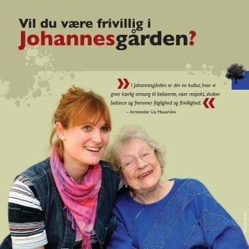 "Folder ""Vil du være frivillig i Johannesgården""?"