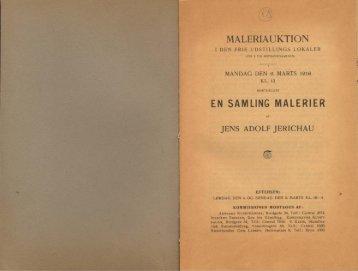 EN SAMLING MALERIER