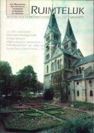 Ruimtelijk sept. 1999 - Stichting Ruimte Roermond