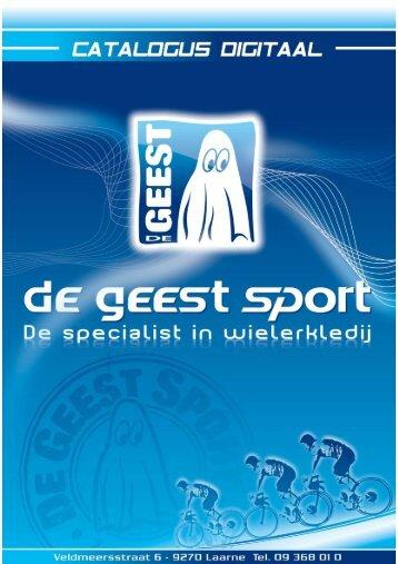 Catalogus - De Geest Sport