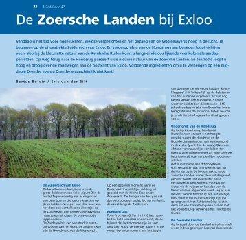 De Zoersche Landen bij Exloo - Stichting Het Drentse Landschap