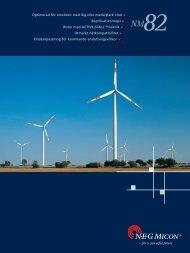 Rotor med ACTIVE-STALL™-teknik Utmärkt ... - Offerdals vind