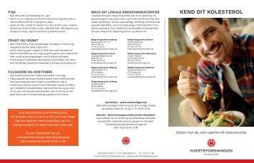 kend dit kolesterol - Hjerteforeningen