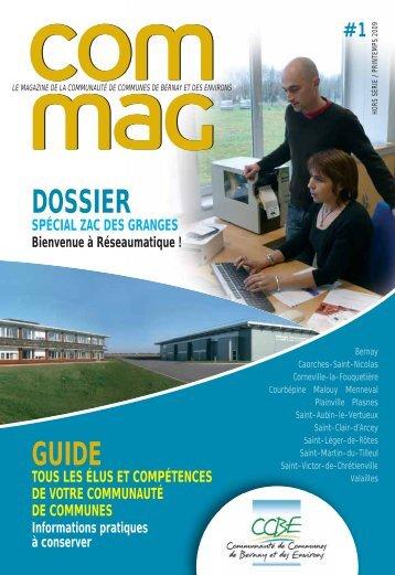 Com'Mag n°1 - Communauté de communes de Bernay et des environs