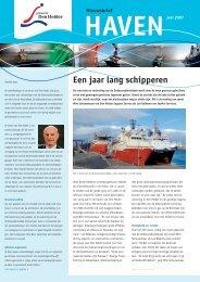 Een jaar lang schipperen - Haven Den Helder