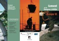 Cement en de Europese richtlijn inzake Chroom VI - Febelcem