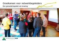 Groeikansen voor netwerkbegeleiders