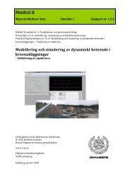 1.5:4 Modellering och simulering av dynamiskt beteende i ...