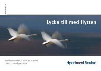 Till dig som flyttar ut - Apartment Bostad
