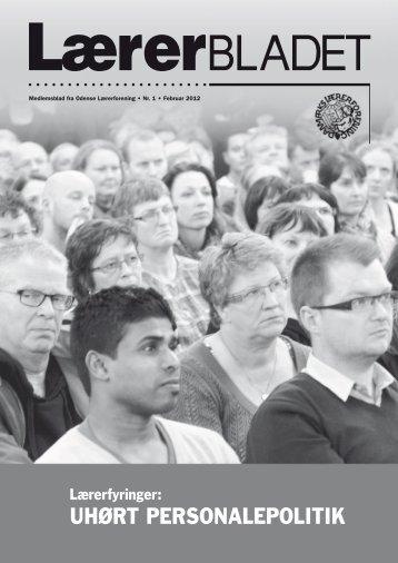 UHØRT PERSONALEPOLITIK - Danmarks Lærerforening