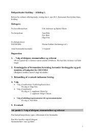 Referat afd. 654-01 - Boligkontoret Danmark