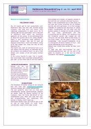 Heldenreis Nieuwsbrief jrg. 4 - nr. 11 - april 2013