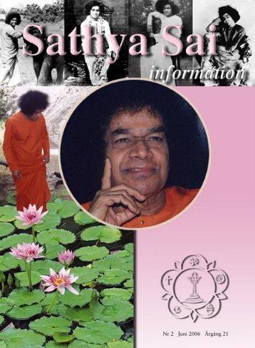 juni 2006.indd - Sri Sathya Sai Baba Seva Organisation