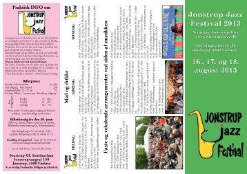 Festivalfolder - Jonstrup Jazz