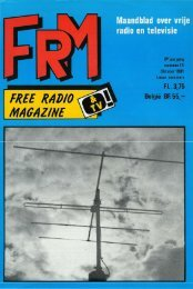 Free Radio Magazine oktober 1980 - Etherpiraten.com