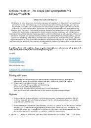 Bildskärmsarbete - Sveriges ögonläkarförening