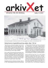 Nr 4/2007 - Arkiv Gävleborg