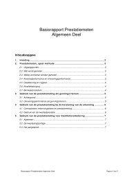 ACB00039 Basisrapport Prestatiemeting Algemeen versie ... - ProRail