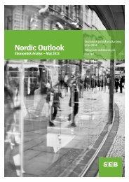 Nordic Outlook – Maj 2013 - SEB