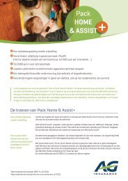 Pack Home & Assist - AG Insurance