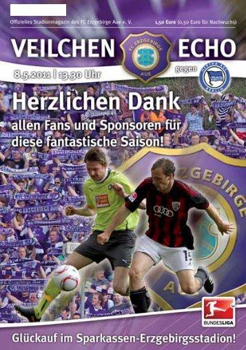 """(Spiel-)Fäden, liebe """"Veilchen""""… - FC Erzgebirge Aue"""