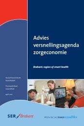Advies versnellingsagenda zorgeconomie - SER Brabant