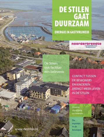 De Stilen gaat duurzaam-magazine.pdf - Architekstenburo De Haan