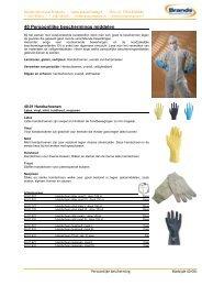 40 Persoonlijke beschermings middelen - Brands Structural Products