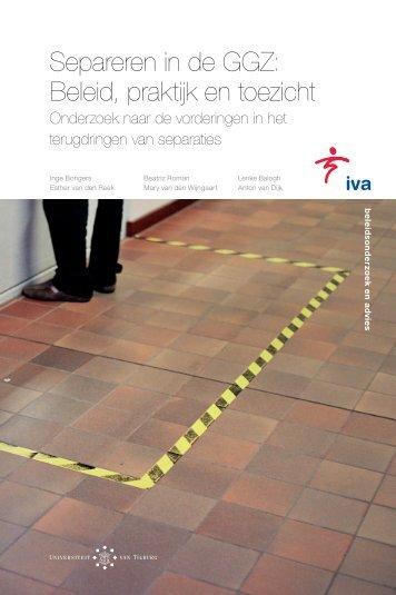 IVA rapport - Informatiepunt dwang in de zorg