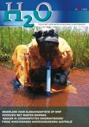 Inhoud H2O nummer 6, maart 2009 - H2O - Tijdschrift voor ...
